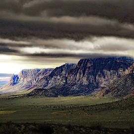 Stormy Morning in Red Rock Canyon by Alan Socolik