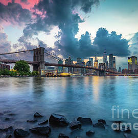 Stormy Night in Brooklyn by Inge Johnsson