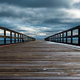 Douglas Milligan - Stormy Pier