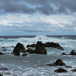 Stormy Sea by Pamela Walton