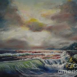 Stormy Sea by Raija Merila
