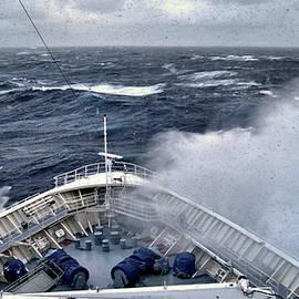 Stormy Seas, Granduer of the Seas, Atlantic Ocean by Wayne Higgs