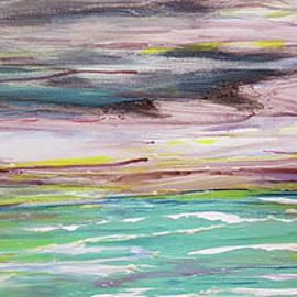 Stormy Seascape by Cheryle Gannaway