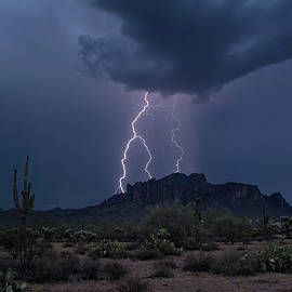 Saija Lehtonen - Stormy Sonoran Evening
