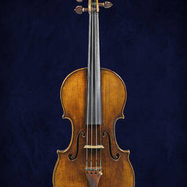 Stradivarius Violin Front by Endre Balogh