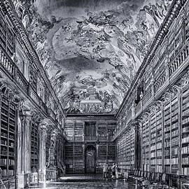 C H Apperson - Strahov Monastery Philosophical Hall BW