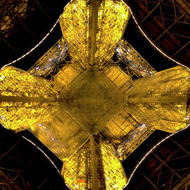 Straight Up the Eiffel Tower by Michael Riley