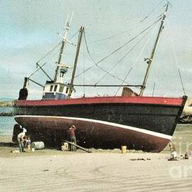 Stranded at Gweedore Donegal