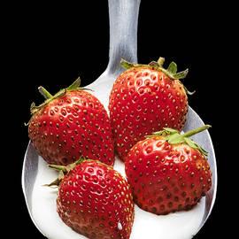 Strawberries n Cream by Jon Delorme