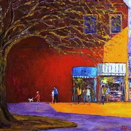 Daniel Xiao - Street and Tree