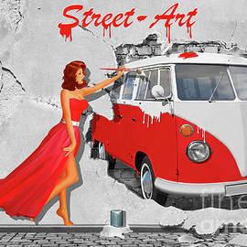 Monika Juengling - Street-Art in Digital-Art