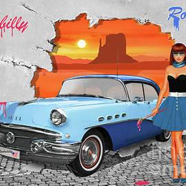 Monika Juengling - Street-Art Rockabilly and Route 66