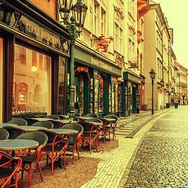 Jenny Rainbow - Street Cafe. Series Golden Prague