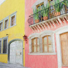 Street In San Miguel De Allende, Mexico. by Rob Huntley