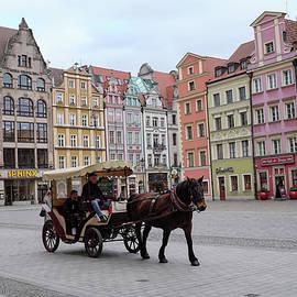 Wroclaw Rynek by Dubi Roman