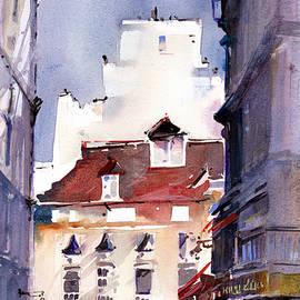 Parisian Stroll by P Anthony Visco