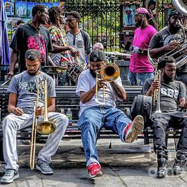 Kathleen K Parker - Street Photography - Musicians in Jackson Square