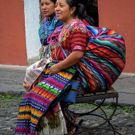 Street Vendors - Antigua Guatemala X by Totto Ponce