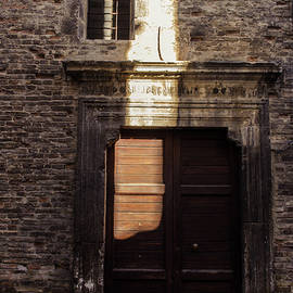 Streets Of Italy - An Ancient Door 2 by Andrea Mazzocchetti