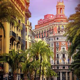 Streets of Valencia Spain  by Carol Japp