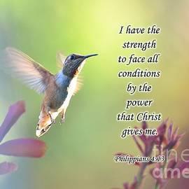 Debby Pueschel - Strength Through Christ