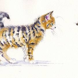 Stripey Creatures by Debra Hall