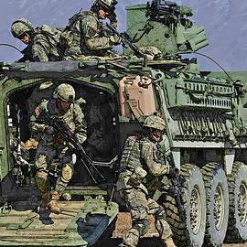 Stryker Iav by Herb Paynter