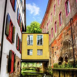 Stuck in The Middle in Basel Switzerland  - Carol Japp
