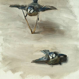 Studies of a Dead Bird - John Singer Sargent
