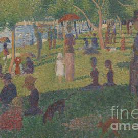 Georges Pierre Seurat - Study for A Sunday on La Grande Jatte, 1884