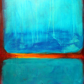 Study in Blue by Nancy Merkle