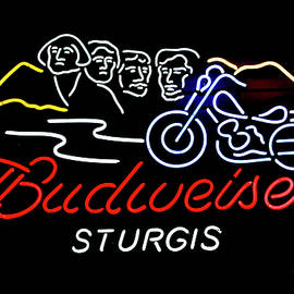 Sturgis Neon Sign by Thomas Woolworth