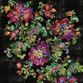 Stylized  Cozy Floral  by Grace Iradian