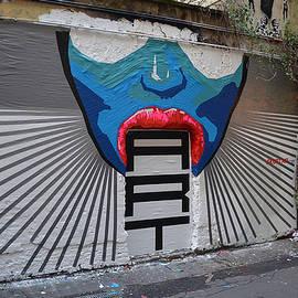 Slava Ostap Osinski - Sucks street art