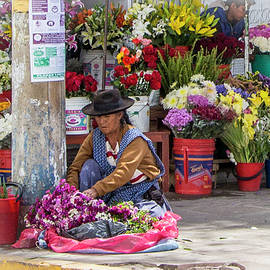 Venetia Featherstone-Witty - Sucre, Bolivia Flower Market