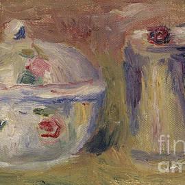 Sugar bowl and Beaker - Pierre Auguste Renoir