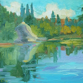 Summer At Lake Fulmor by Diane McClary