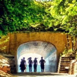 Summer At Tunnel Park by Michelle Calkins