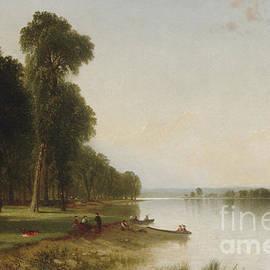 Summer Day on Conesus Lake, 1870 - John Frederick Kensett