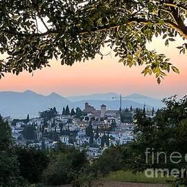 Julie Pacheco-Toye - Summer Evening in Granada