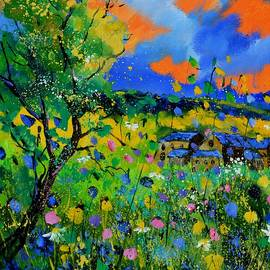 Pol Ledent - Summer flowers