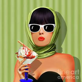 Monika Juengling - Summer love, summer, sun and ice cream