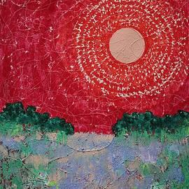 Summer Marsh original painting by Sol Luckman