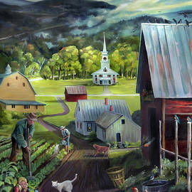 Nancy Griswold - Summer on the Back Road in Vermont