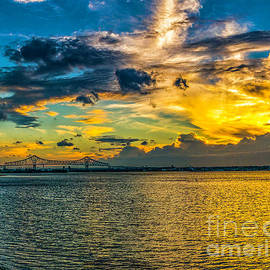 Nick Zelinsky - Summer Sky over the Commodore Barry - Pano