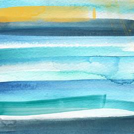 Summer Surf 2- Art by Linda Woods - Linda Woods