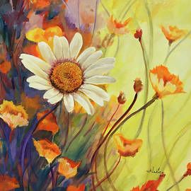 Alan Lakin - Summer Wild Flowers