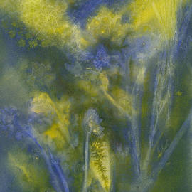 Summertime Impressions 2 Watercolor by Conni Schaftenaar