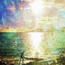 Sun and Sea Hawaii by Jerome Stumphauzer
