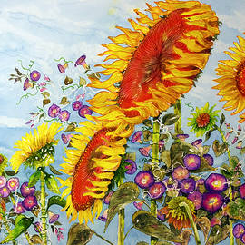 Sun and Wind by Shirley Sykes Bracken